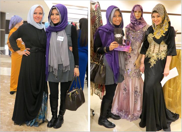 Мавлид Ан-Наби 2014, Дизайнеры мусульманской одежды Диляра Садриева и Нианила