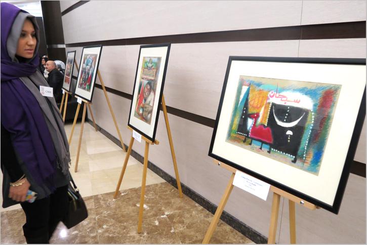 Мавлид ан-Наби 2014: Картина Азербайджанского худохника Гейюр Юнусов (Путь к Каабе)