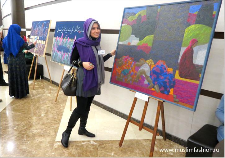 Мавлид 2014, Картины художников, выставка произведений искусства, организованная Фондом Марджани