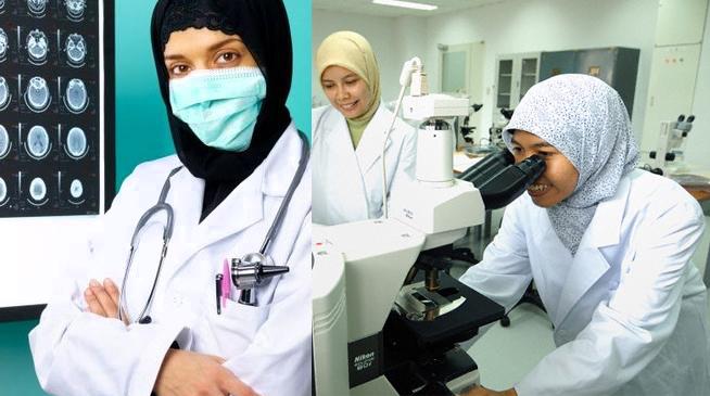 Профессии мусульманок - доктор и ученые