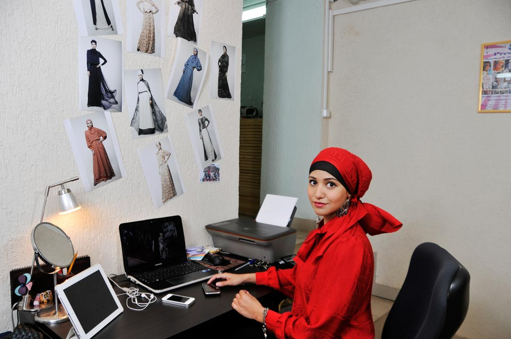 Sahera Rahmani - дизайнер мусульманской одежды Сахера Рахмани