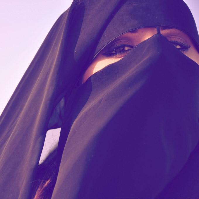 аватарка для мусульманки, мусульманка в никабе