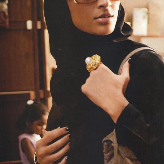 мусульманка в очках на аватарку