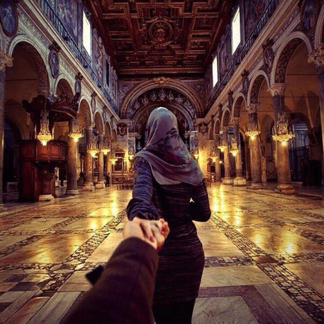 мусульманка в мечети с мужчиной фото