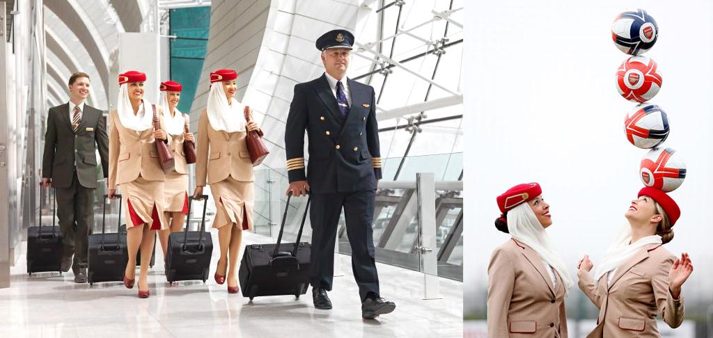 Самые красивые стюардессы Эмиратские авиалинии Emirates