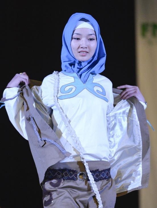 Бишкекские модельеры на модном показе