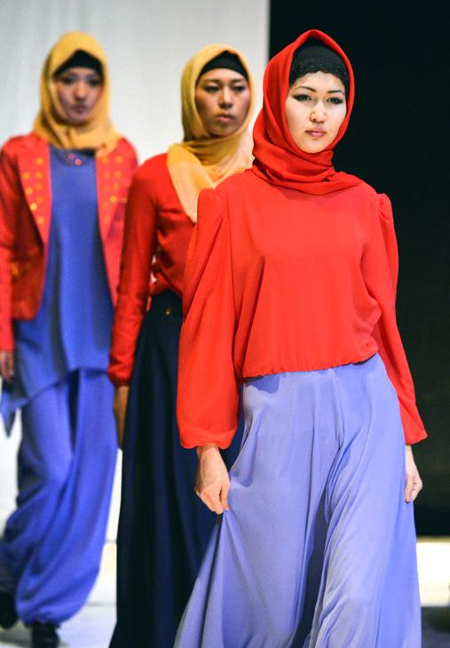 яркая мусульманская одежда