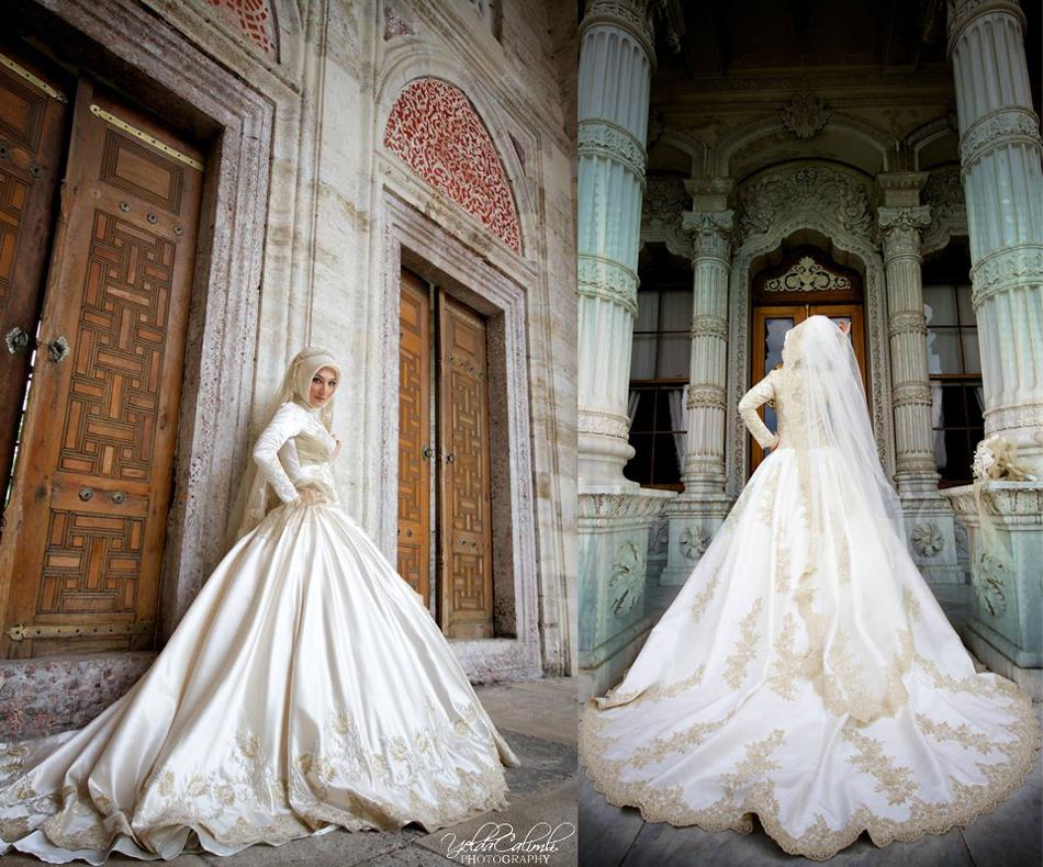 свадебное платье для никаха