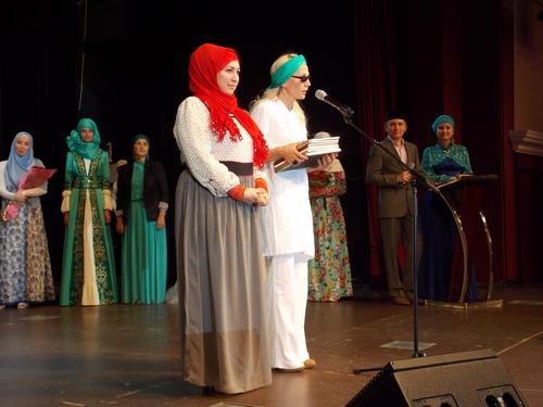 Совет жюри во гласе с Наилей Зиганшиной и Надеждой Аюповой