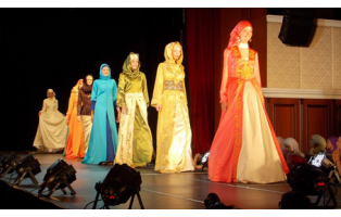 Islamic Fashion 2013 - мусульманский показ моды в Казани