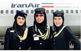 Стюардессы-мусульманки в хиджабе