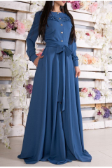 Платье Armani (голубой)
