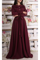 Платье Armani (бордо)