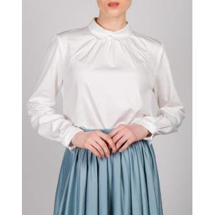 Блуза расклешенная (молочный)