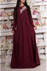 Платье Zarema (бордо)