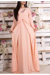 Платье Zarema (Персик)
