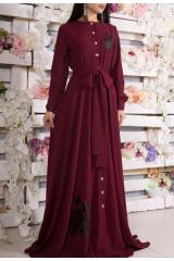 Платье Leila (Бордо)