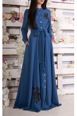 Платье Leila (Голубой)