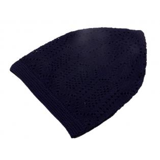 Тюбетейка вязанная (черный)